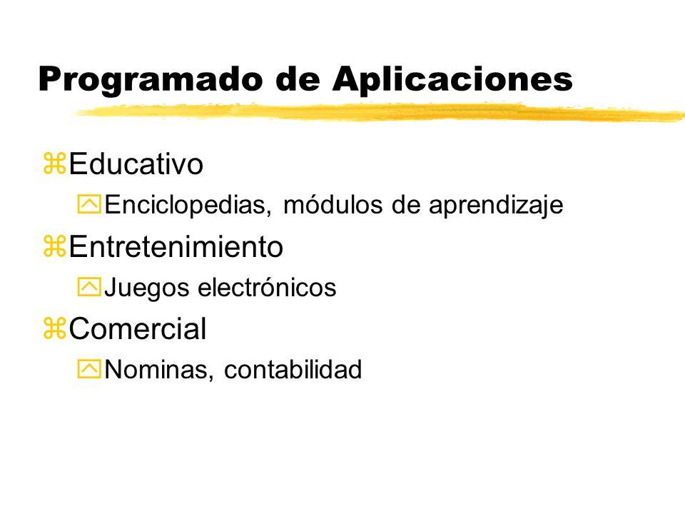 Programado de Aplicaciones