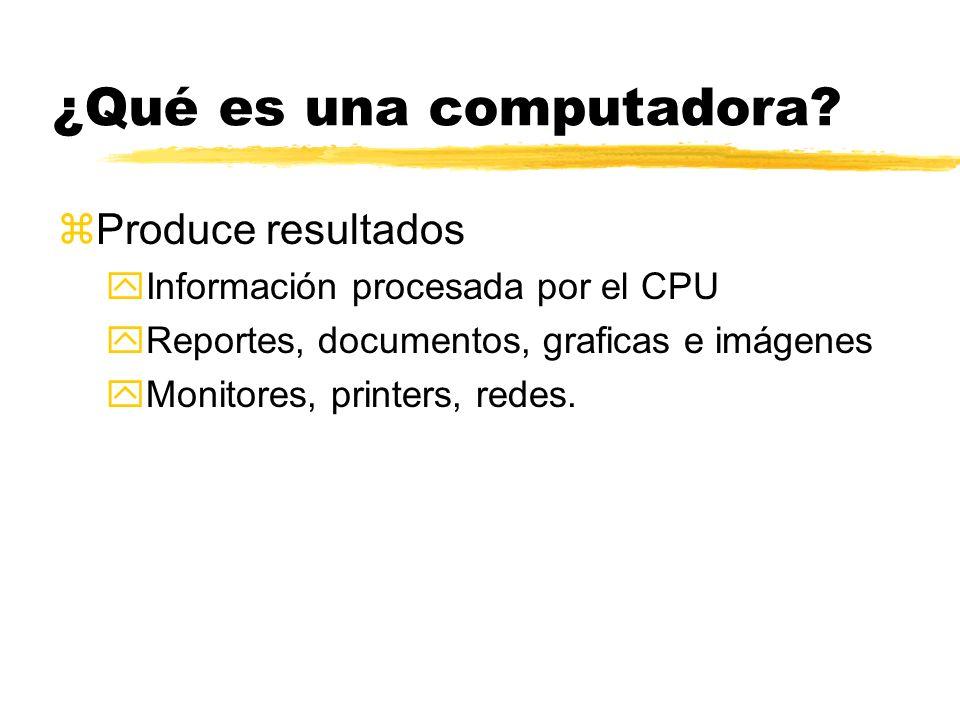 ¿Qué es una computadora