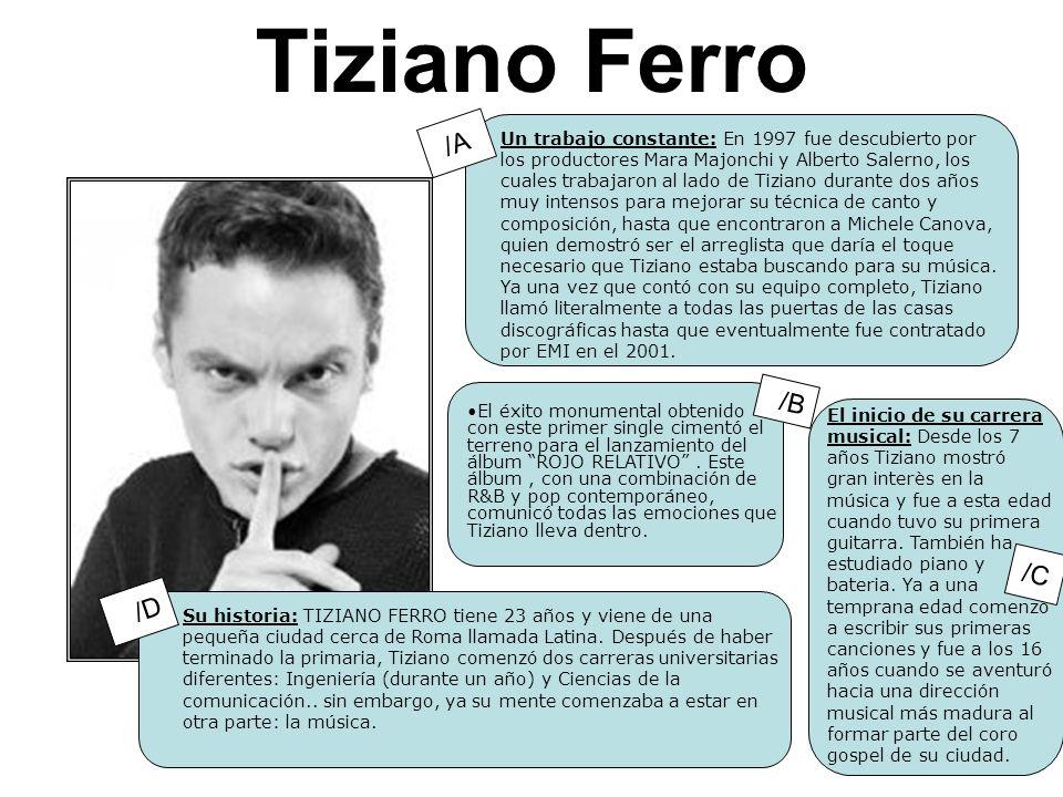 Tiziano Ferro /A /B /C /D