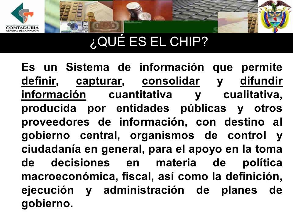 ¿QUÉ ES EL CHIP