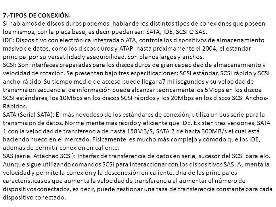 7.-TIPOS DE CONEXIÓN.