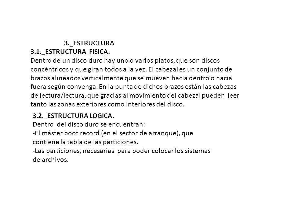 3._ESTRUCTURA 3.1._ESTRUCTURA FISICA.