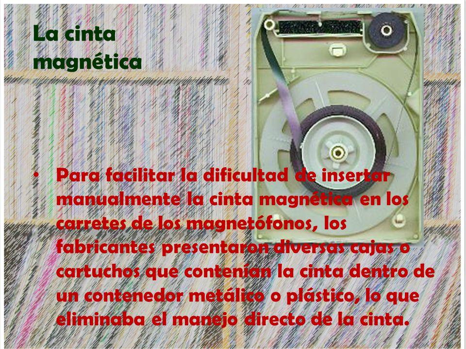 La cinta magnética