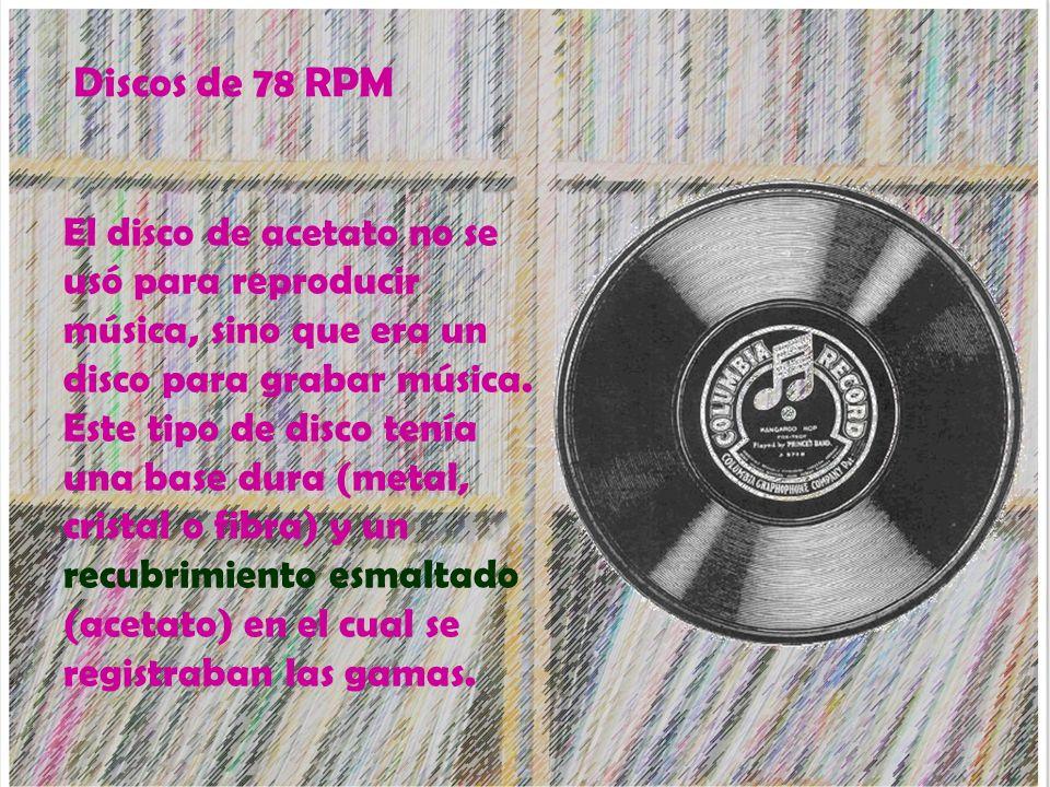 Discos de 78 RPM