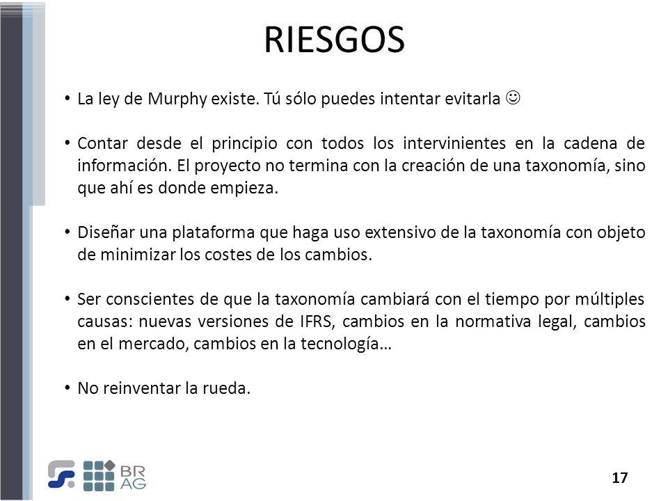 RIESGOS La ley de Murphy existe. Tú sólo puedes intentar evitarla 