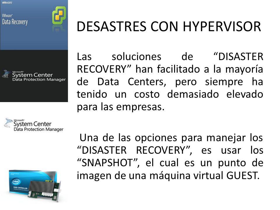 DESASTRES CON HYPERVISOR