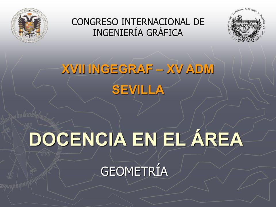 CONGRESO INTERNACIONAL DE INGENIERÍA GRÁFICA