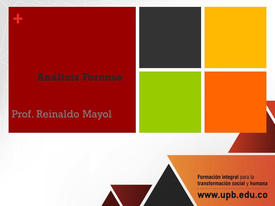 Análisis Forense Prof. Reinaldo Mayol