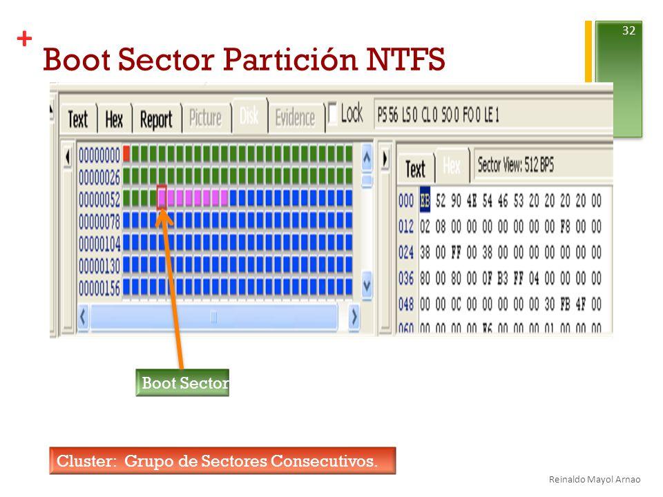 Boot Sector Partición NTFS