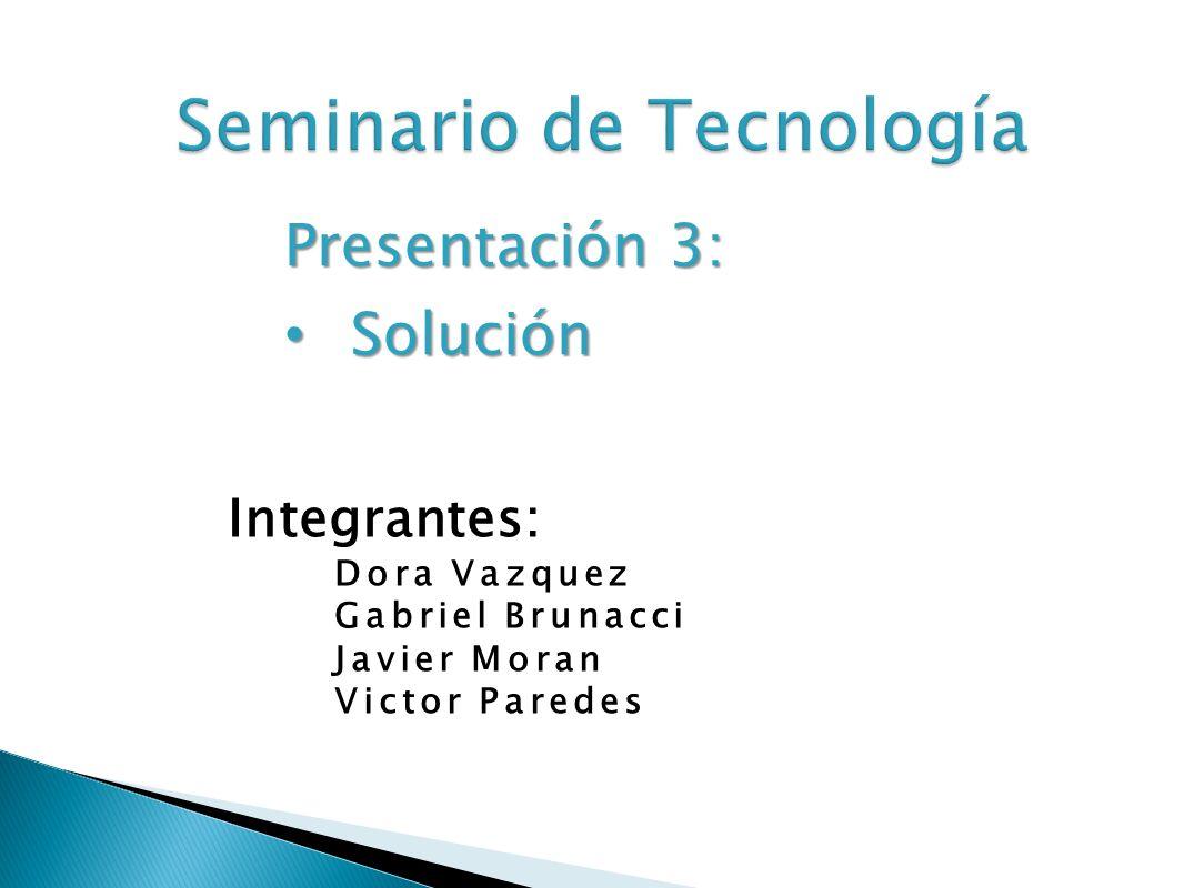 Seminario de Tecnología