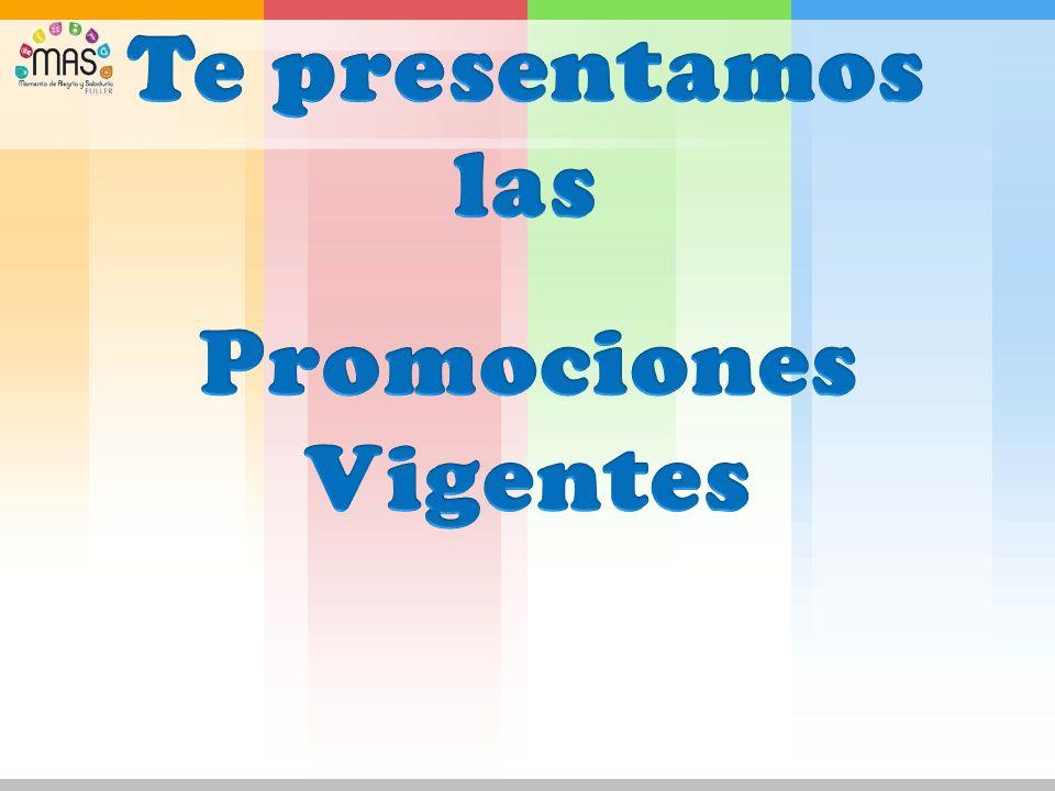 Te presentamos las Promociones Vigentes