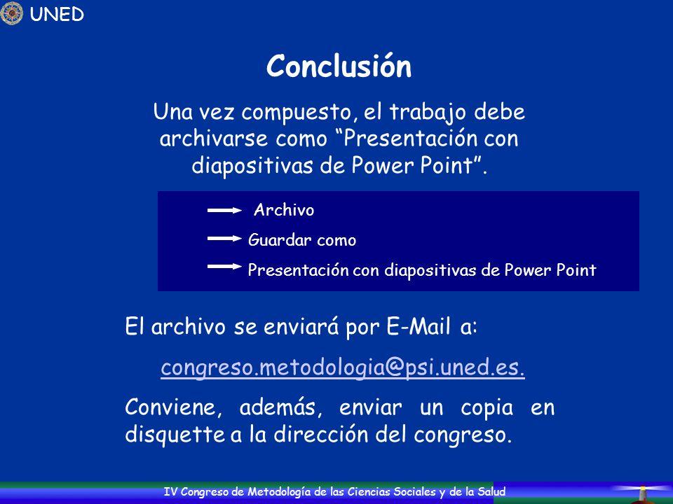 congreso.metodologia@psi.uned.es.