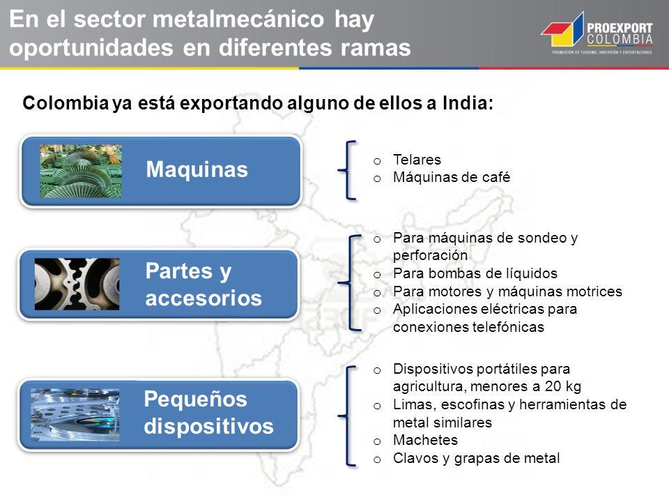 En el sector metalmecánico hay oportunidades en diferentes ramas
