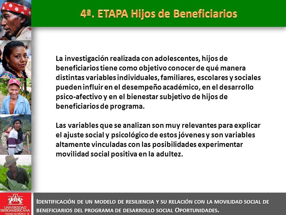4ª. ETAPA Hijos de Beneficiarios