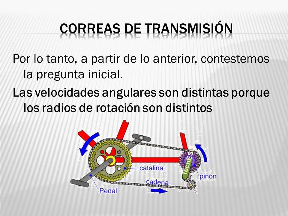 Correas de transmisión