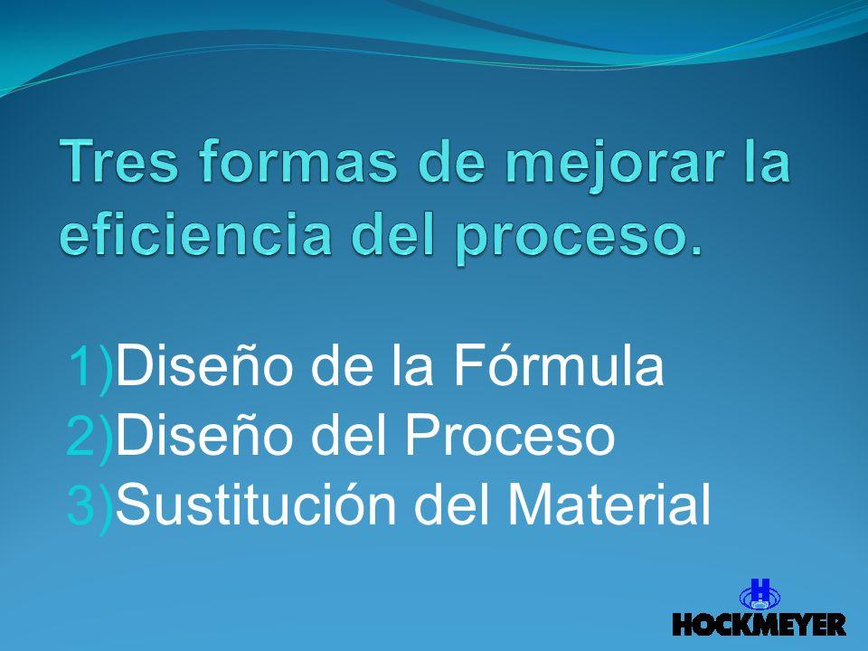 Tres formas de mejorar la eficiencia del proceso.