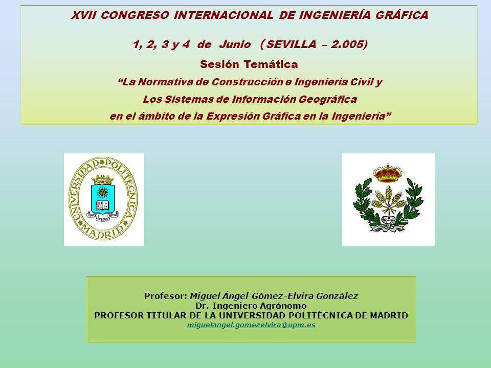 XVII CONGRESO INTERNACIONAL DE INGENIERÍA GRÁFICA