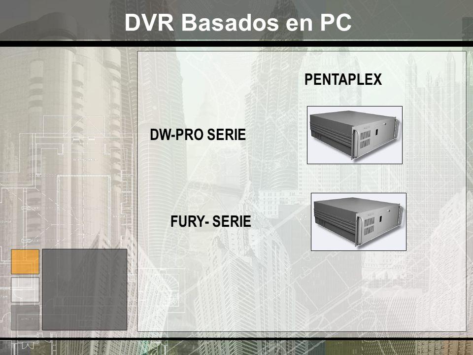DVR Basados en PC PENTAPLEX DW-PRO SERIE FURY- SERIE