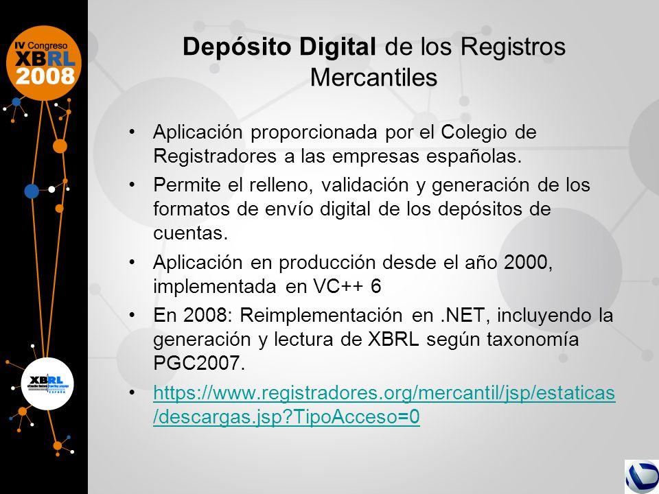 Depósito Digital de los Registros Mercantiles