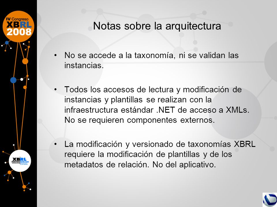 Notas sobre la arquitectura