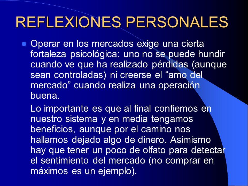 REFLEXIONES PERSONALES