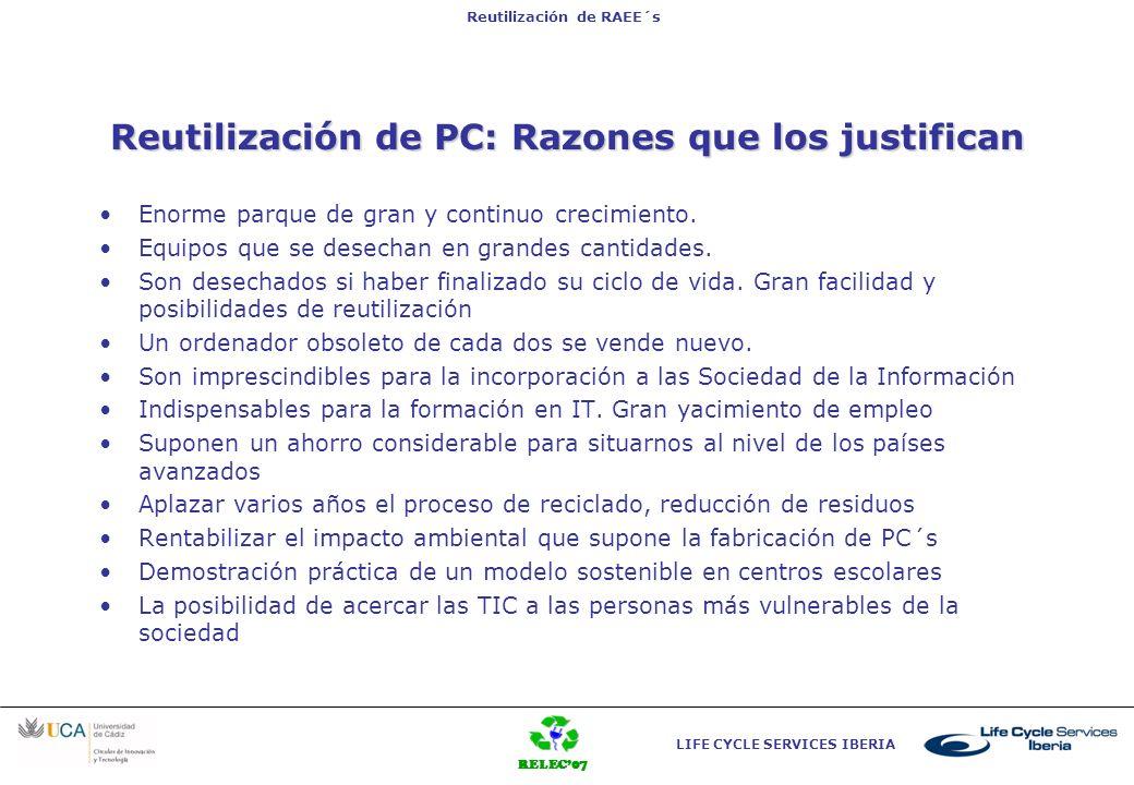 Reutilización de PC: Razones que los justifican