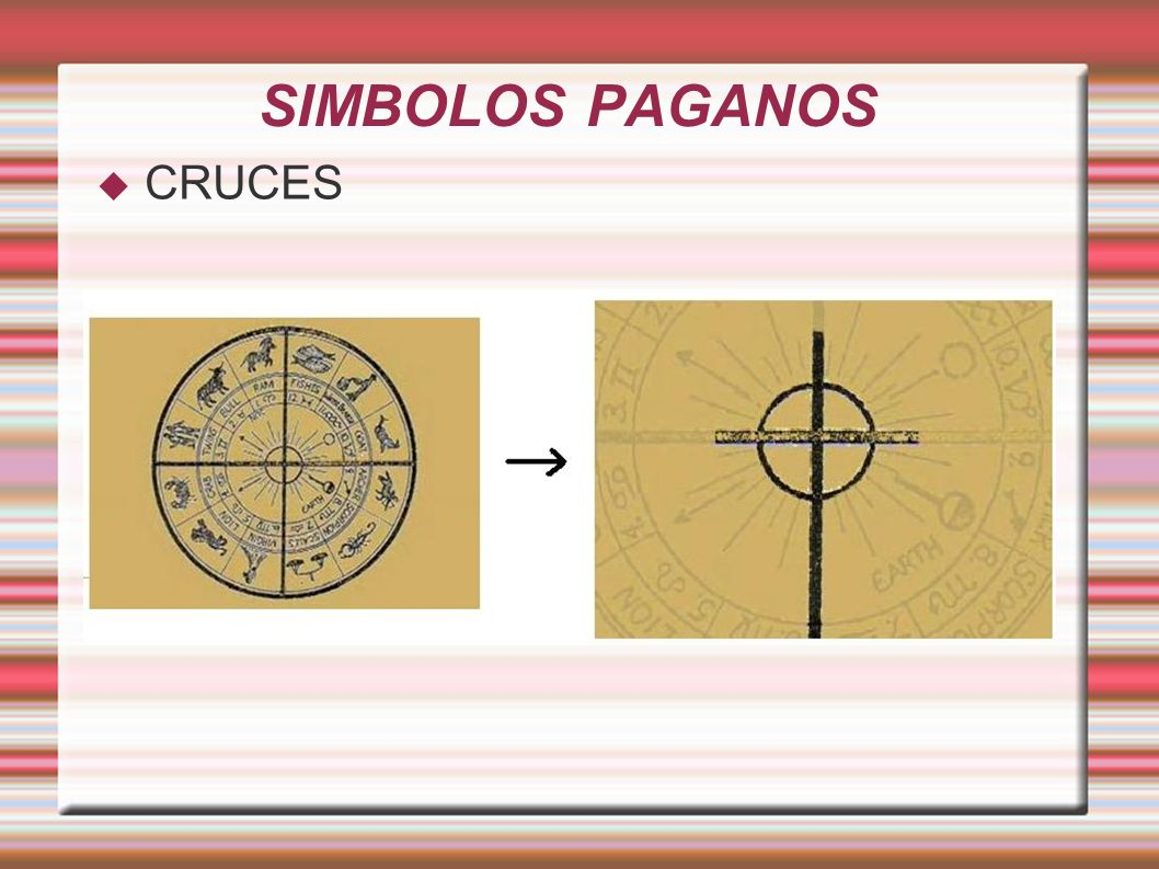 SIMBOLOS PAGANOS CRUCES