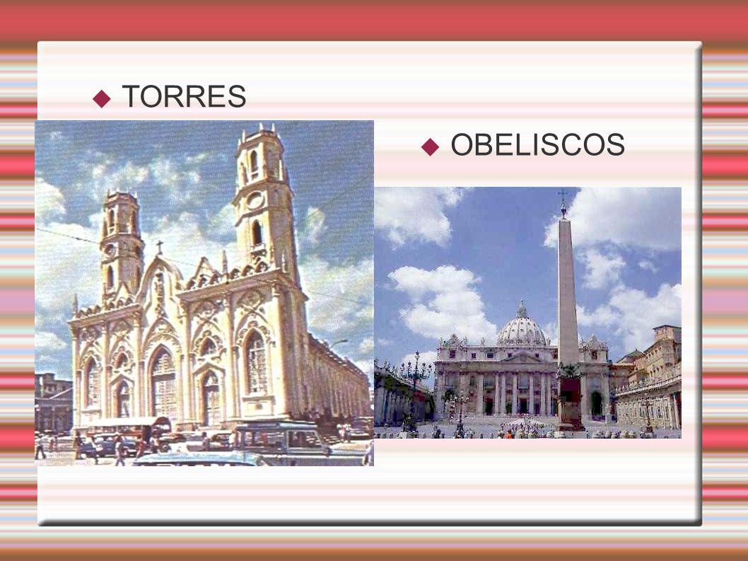 TORRES OBELISCOS