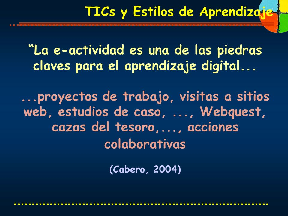 TICs y Estilos de Aprendizaje