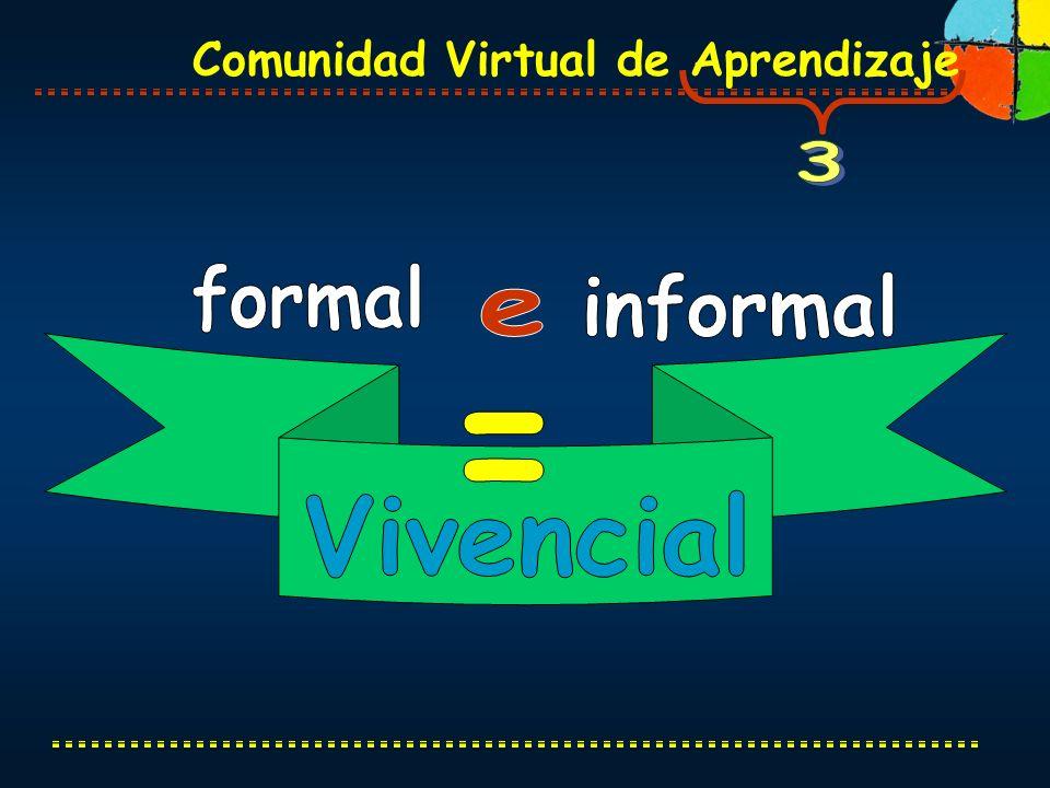 3 formal informal e = Vivencial