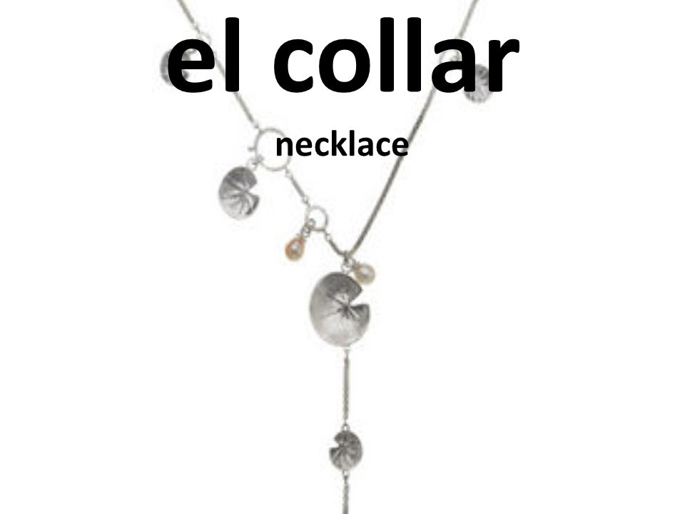 el collar necklace