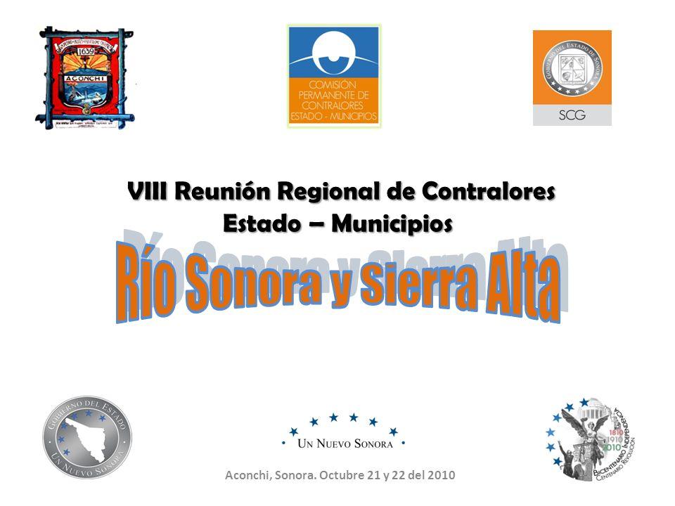 VIII Reunión Regional de Contralores Estado – Municipios