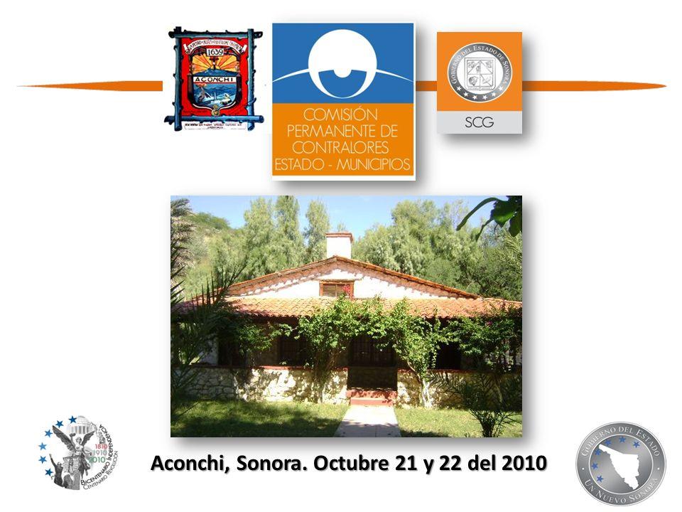 Aconchi, Sonora. Octubre 21 y 22 del 2010