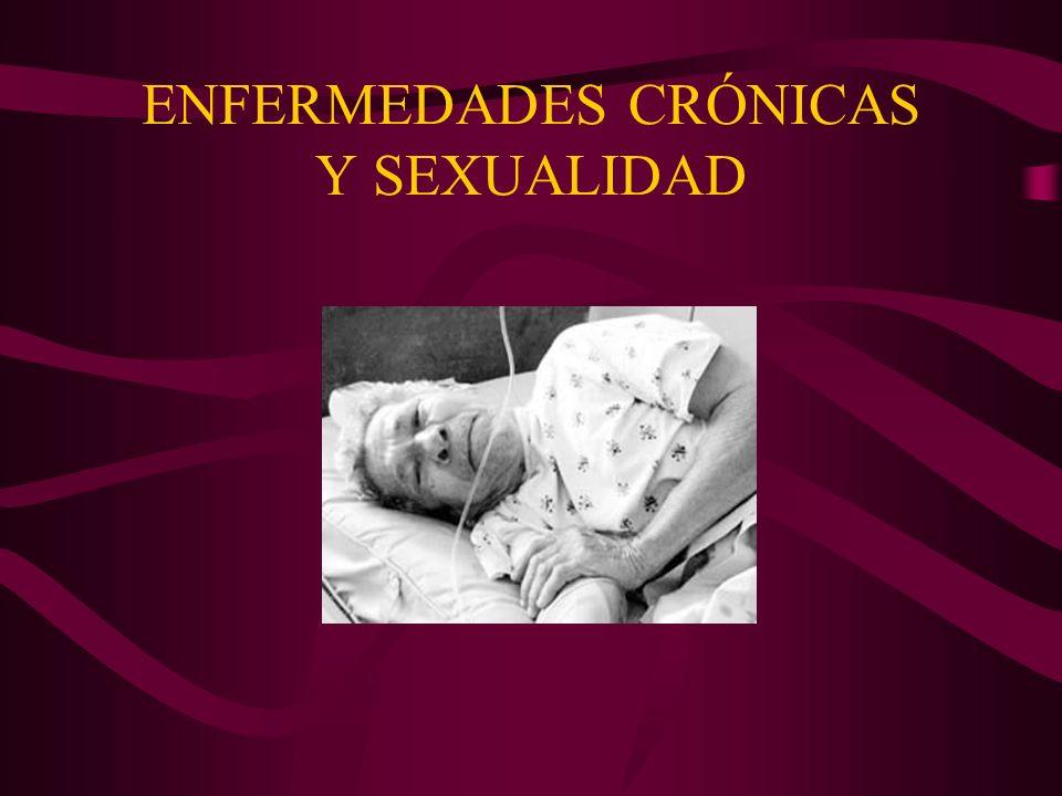 ENFERMEDADES CRÓNICAS Y SEXUALIDAD