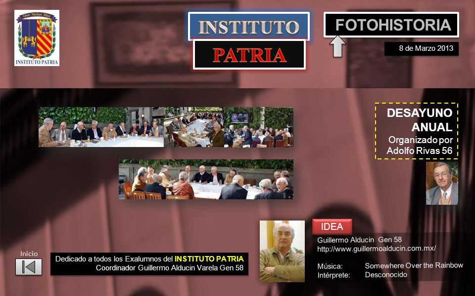 PATRIA INSTITUTO FOTOHISTORIA DESAYUNO ANUAL