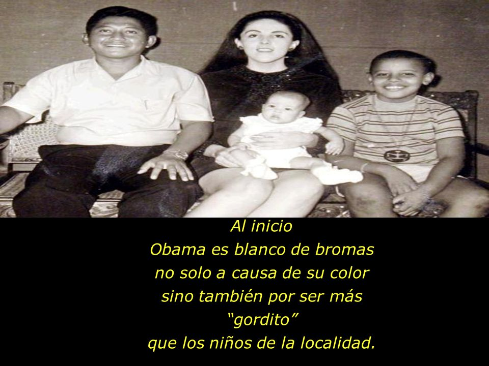 Obama es blanco de bromas no solo a causa de su color
