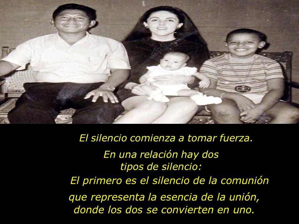 El primero es el silencio de la comunión