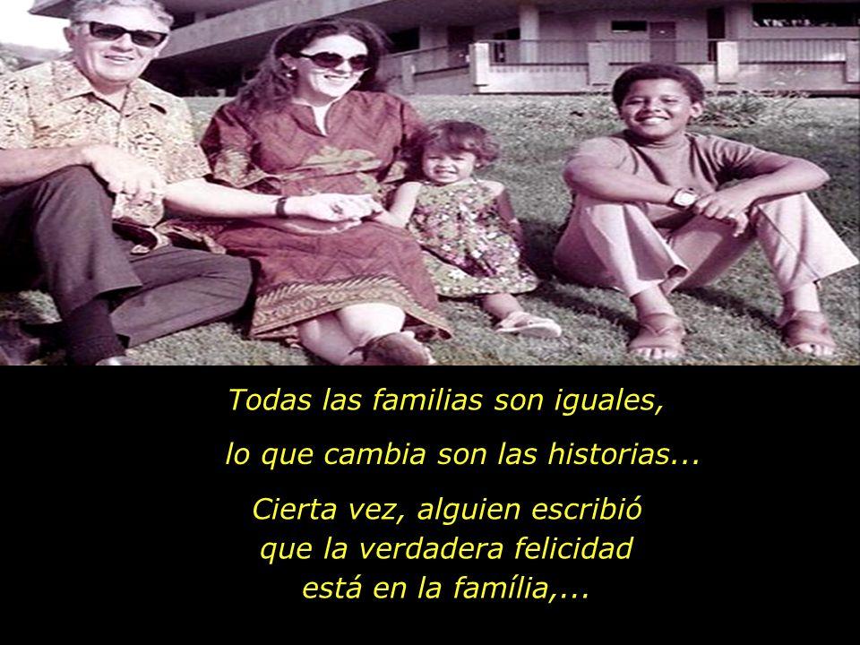 Todas las familias son iguales,