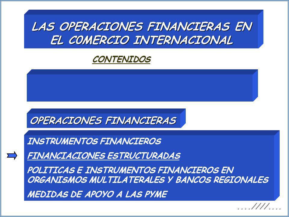 LAS OPERACIONES FINANCIERAS EN EL C0MERCIO INTERNACIONAL