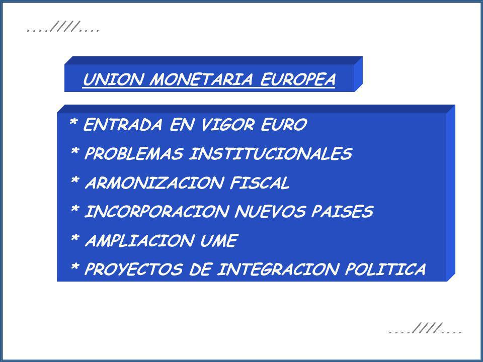 UNION MONETARIA EUROPEA