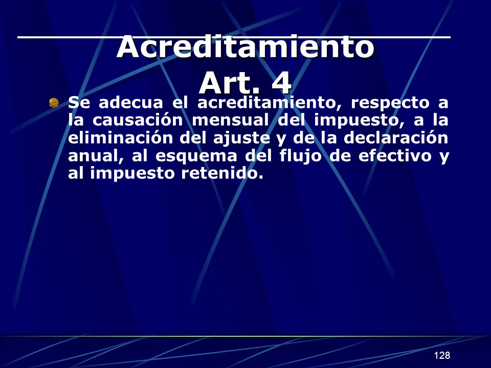 Acreditamiento Art. 4