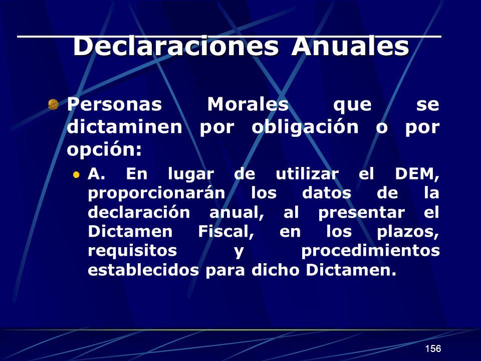 Declaraciones Anuales