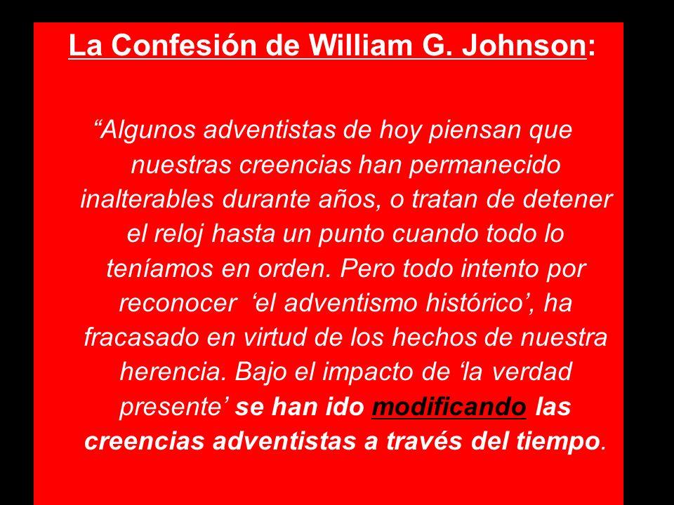 La Confesión de William G. Johnson: