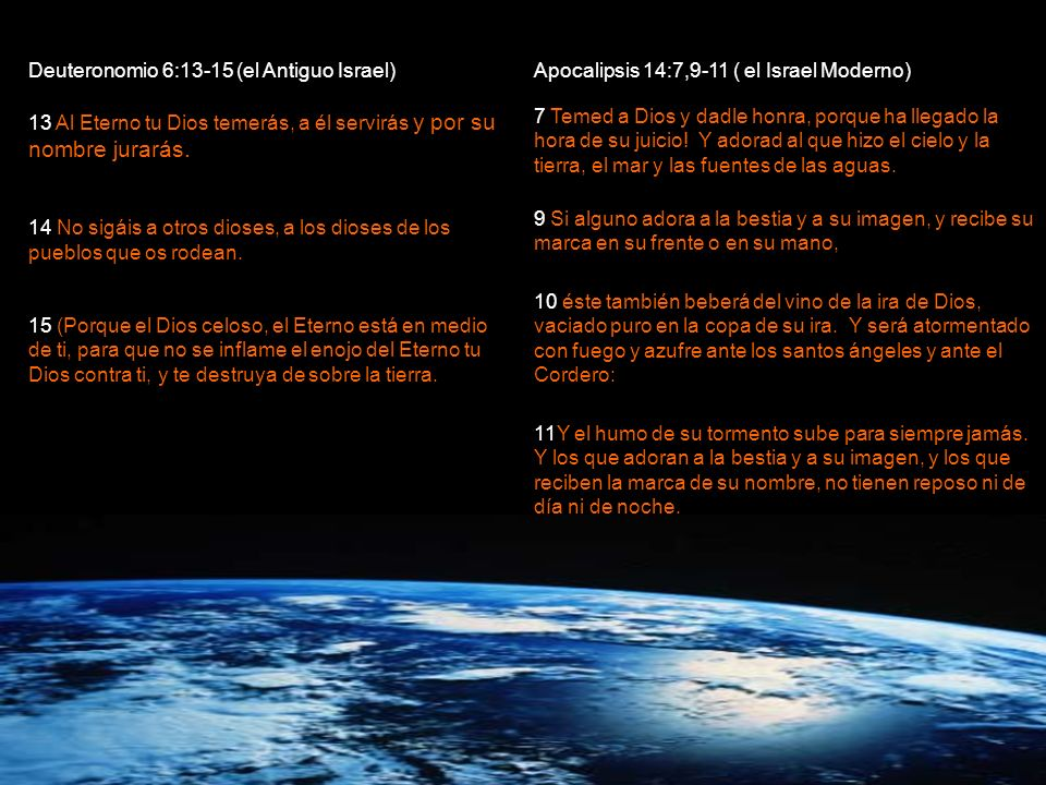 Deuteronomio 6:13-15 (el Antiguo Israel)