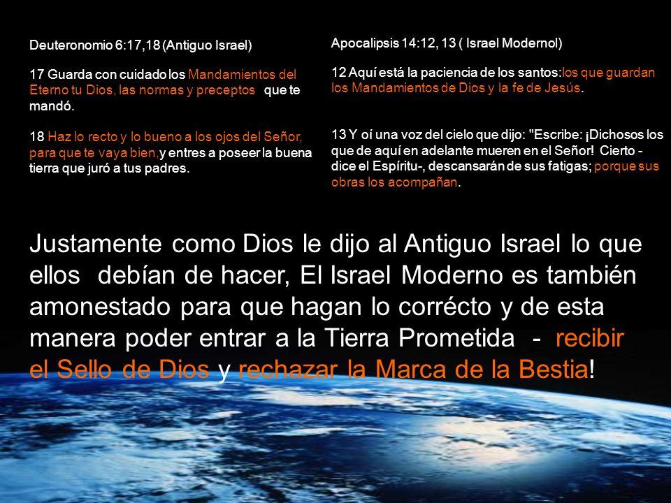 Deuteronomio 6:17,18 (Antiguo Israel)