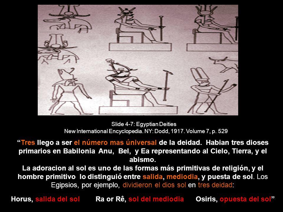 Slide 4-7: Egyptian Deities