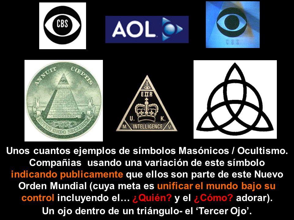 Un ojo dentro de un triángulo- el 'Tercer Ojo'.