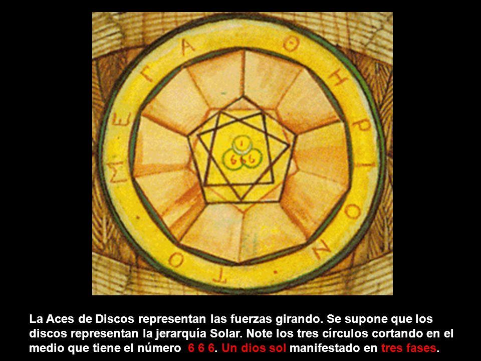 La Aces de Discos representan las fuerzas girando