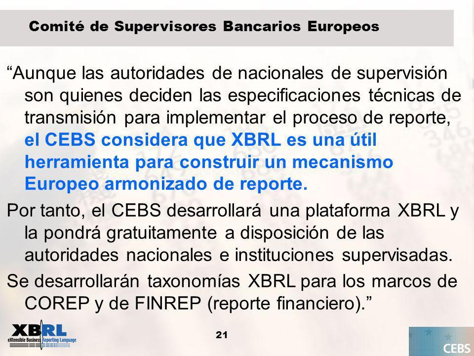 Comité de Supervisores Bancarios Europeos
