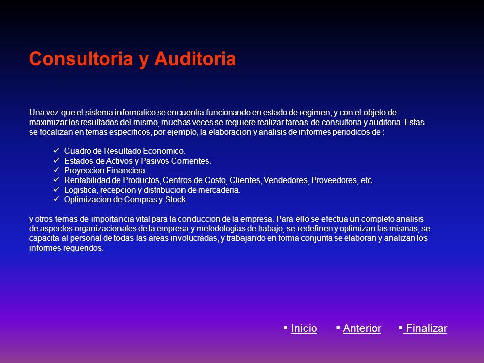 Consultoria y Auditoria